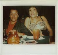 Priscilla Bowman sitting with Marcia Bowman | Digital Special Collections