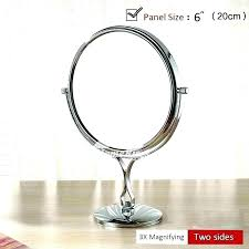 two sided makeup mirror double sided