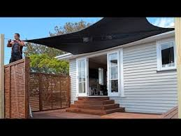 How To Install Shade Sails Mitre 10 Easy As Diy Youtube