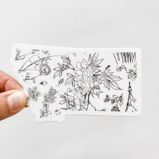 Montana State Botanical Decal Sticker Shop Sticker Decals And Stationery Online