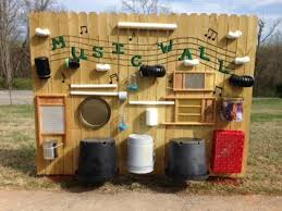13 Outdoor Music Walls That Will Embellish Your Child Friendly Backyard