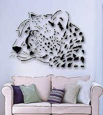 Wall Stickers Vinyl Decal Leopard Animal Predator Tribal Unique Gift Wallstickers4you