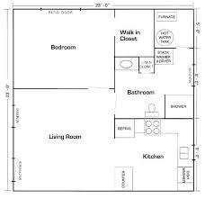 20 x20 apt floor plan mother in law