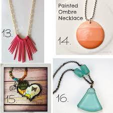 24 easy diy necklace ideas from it