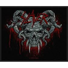 Slayer Demonic Album Cover Iron Sew On Patch Badge Decal Bag Fan 100 Official For Sale Online