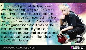 exo kai s most interesting quote i ever i didn t have any