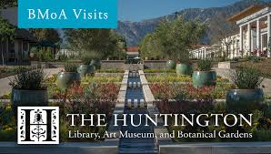 bmoa visits the huntington library
