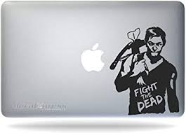 Amazon Com Walking Dead Daryl Dixon Sticker Decal Macbook Air Pro All Models Automotive