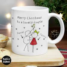 personalised couples mug