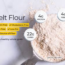spelt flour nutrition facts and health