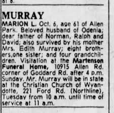 Marion Murray obituary - Newspapers.com