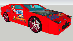Sonic Boom Knuckles The Echidna Car 3d Warehouse