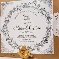 Invitaciones Vintage Boda Casamiento Novios Marido Mujer 15