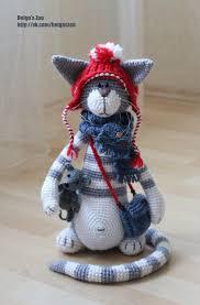 Chat crochet   Chat au crochet, Tricot et crochet, Jouets au crochet