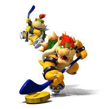 Hockey Bowsers Bowser Mario Super Mario