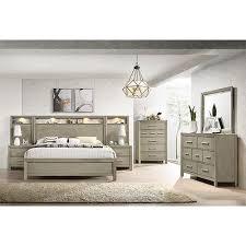 sabrina collection 3pc wall king bed