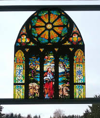 Jesus Good Shepherd Window Cling Tiffany Stained Glass Etsy Stained Glass Window Clings Stained Glass Church Tiffany Stained Glass
