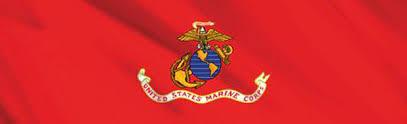U S Marine Corp Flag Rear Window Decal Xxx010047 Series