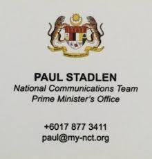 Parl Replies: Paul Stadlen - Wong Chen