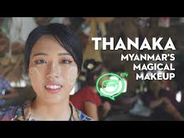 thanaka myanmar s magical makeup