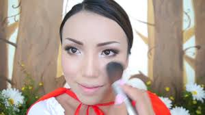 little red riding hood makeup tutorial