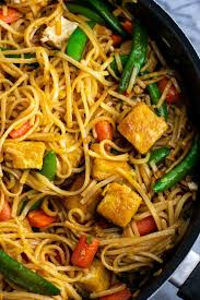 tofu stir fry noodles build your bite
