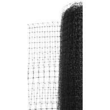 Allfenz 7 Ft X 100 Ft Black Polypropylene Deer Fence Df8410034b The Home Depot