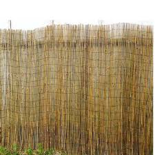 Mgp Woven Bamboo Rolled Fence Bwf 14 The Home Depot