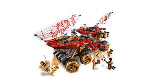 LEGO Ninjago Land Bounty 70677 Building Set for Creative Play ...