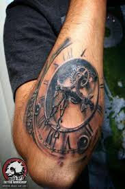 Clock Tattoo Dial Tattoo With Images Tatuaze 3d Morskie