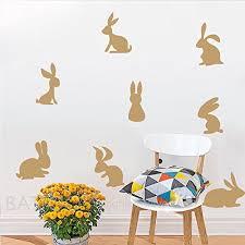 battoo 8 bunnies wall decal sticker