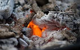 fireplace ash dump service full
