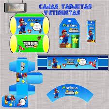 Kit Imprimible Mario Bros Todo Para Esa Fiesta De Cumpleanos