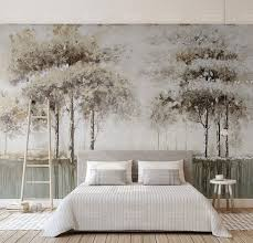Forest Wall Mural Ebay Peel And Stick Wallpaper Amazon Art Black White Decal Diy Painting Vamosrayos