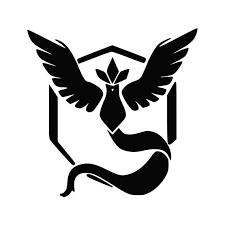 Pokemon Go Inspired Team Mystic Emblem Vinyl Decal Catch Them Etsy
