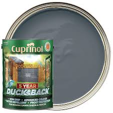 Cuprinol 5 Year Ducksback Matt Shed Fence Treatment Silver Copse 5l Wickes Co Uk