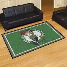 Boston Celtics Area Rugs Fan Rugs