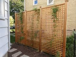 Wood Lattice Privacy Fence In 2020 Privacy Screen Outdoor Outdoor Privacy Panels Diy Lattice Privacy Screen
