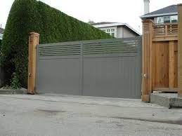 Custom Aluminum Privacy Gate