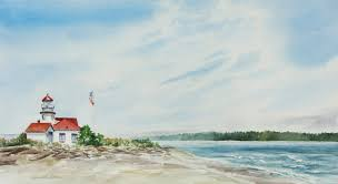 Point Robinson Lighthouse, Vashon Island by Priscilla Patterson |