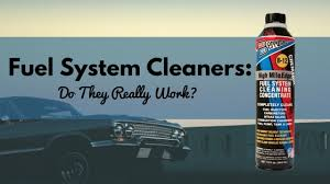 fuel system cleaners do they really work