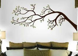 Tree Branch Wall Decal Art Sticker Mural Leaning To The Left Ebay