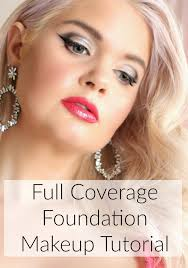 full coverage foundation makeup