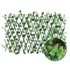 Adjustable Retractable Fence Artificial Leaf Roll Uv Fade Protected Privacy Hedging Wall Landscaping Garden Fence Balcony Scre Fencing Trellis Gates Aliexpress