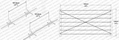 Barbed Wire Fencing Hebei Skyhall Metal Fence Co Ltd