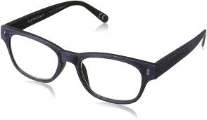 Amazon.com: Foster Grant Women's Adeline 1017547-100.COM Reading Glasses,  Purple, 1: Clothing