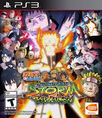 Naruto Shippuden Ultimate Ninja Storm Revolution Playstation 3 Game