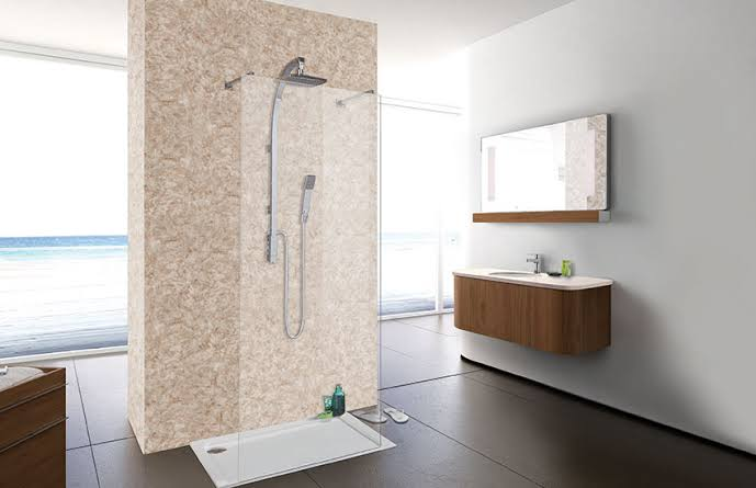 Unique Conventional Bathroom Wall Panels