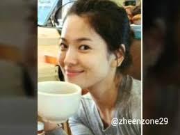song hye kyo is still pretty even