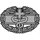 Amazon Com Us Army Combat Medical Badge Clear Decal Automotive